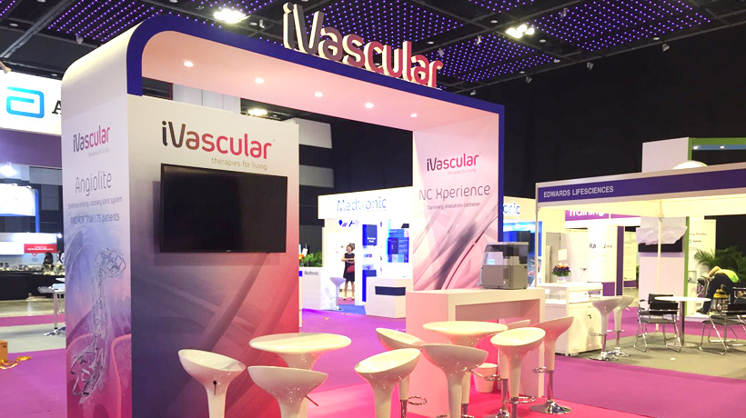 iVascular will take part in AsiaPCR/SingLIVE 2017 in Singapore.
