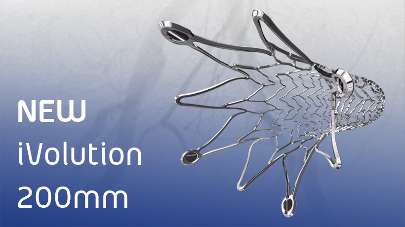 iVascular Receives CE Mark Approval for iVolution 200mm SX stent