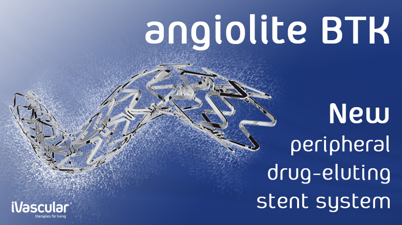 Angiolite BTK, below the knee sirolimus-eluting stent, receives CE Mark Approval