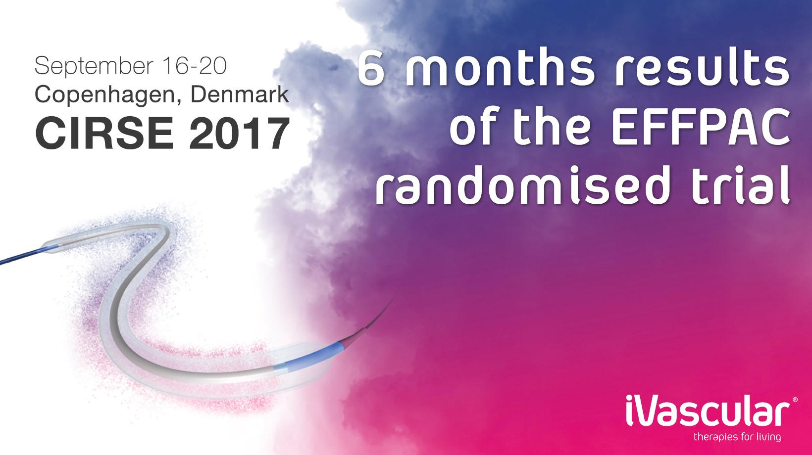 iVascular EffPAC 6 Months Outstanding Data Presented at CIRSE 2017 DCB Session