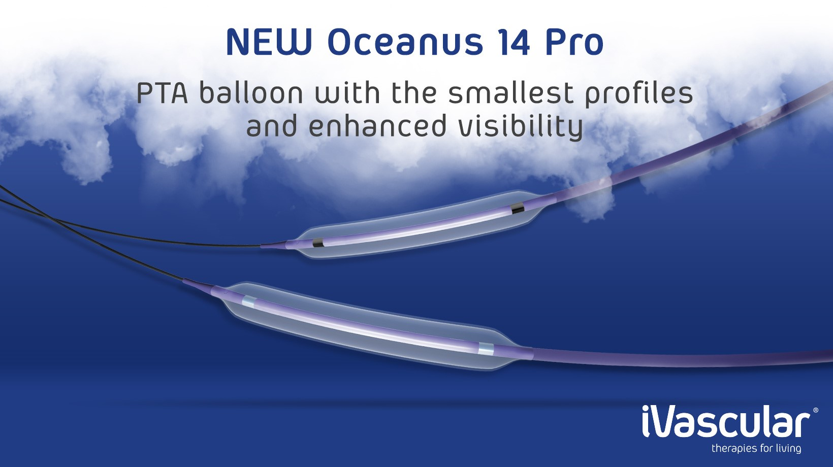Oceanus 14 Pro, PTA balloon catheter receives CE Mark Approval